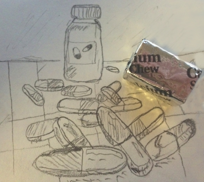 medicine sketch