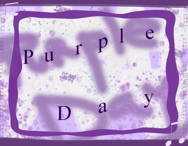 Purple Day sign