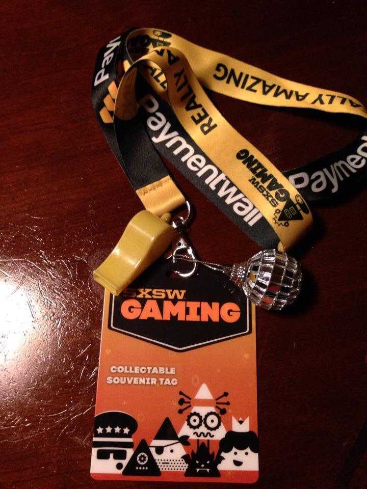 SXSW Gaming Tag