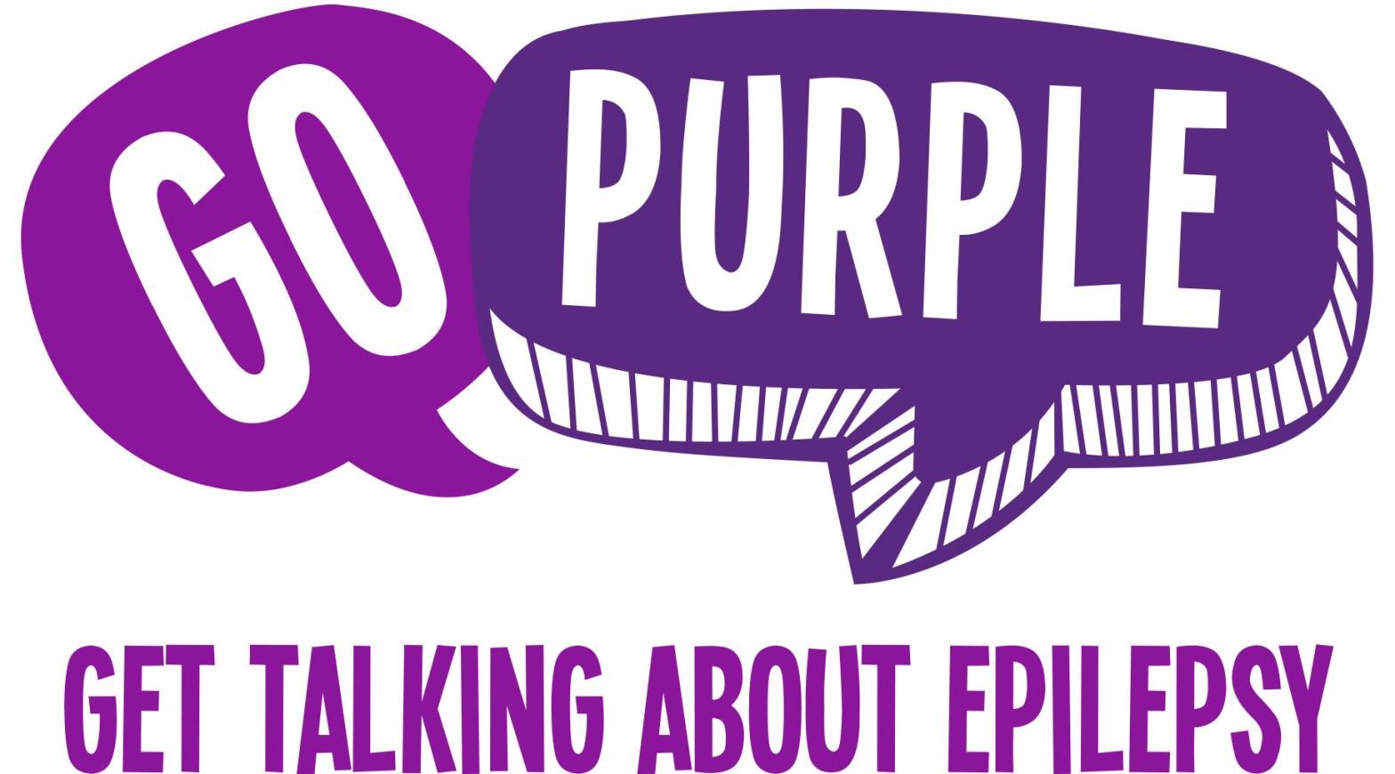 Go Purple Epilepsy Logo