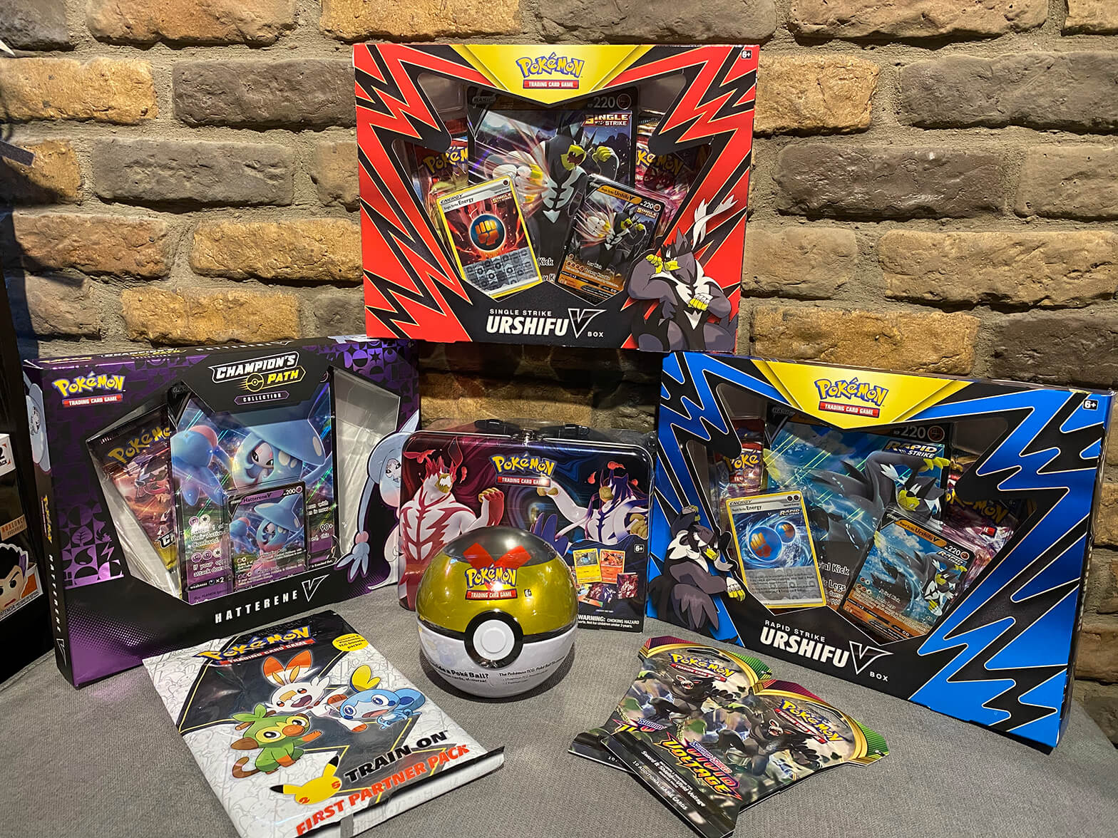 Pokemon cards and collectibles